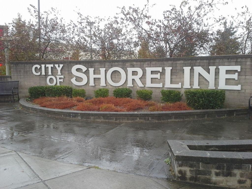 Shoreline WA Sign
