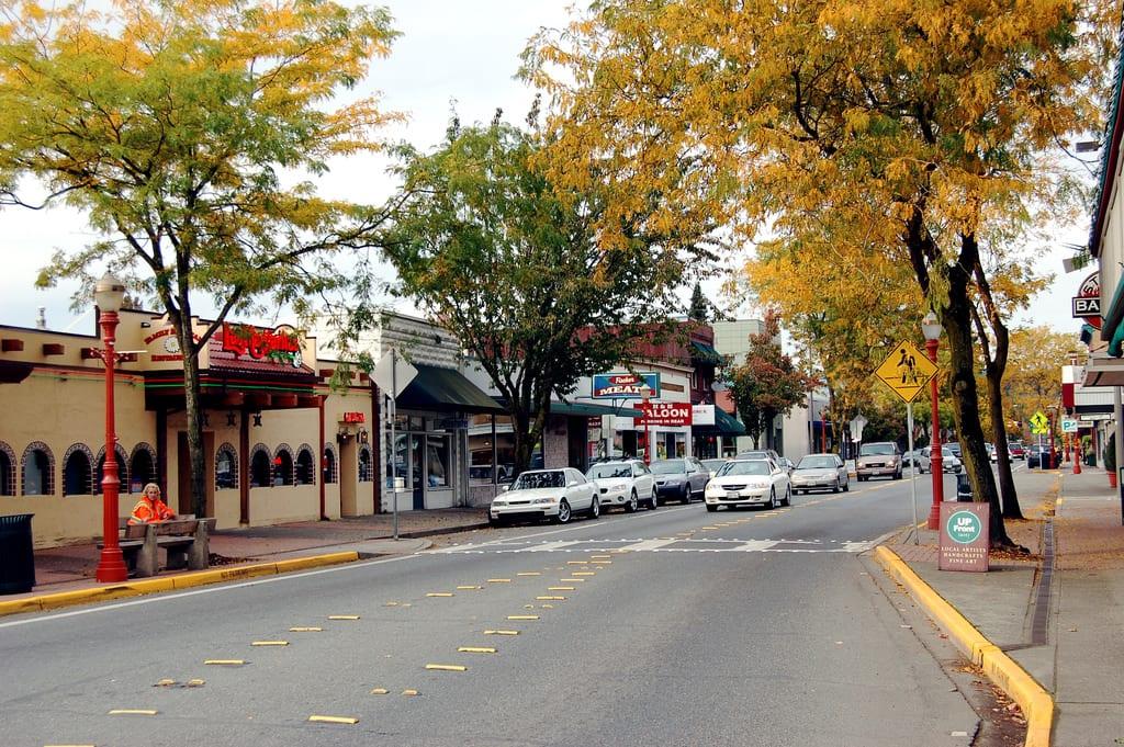 Downtown Issaquah WA