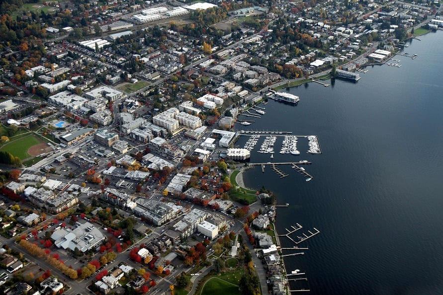 Kirkland Washington Aerial View